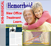 Internal Hemorrhoid Non Surgical Treatment GI Clinic North Houston Texas